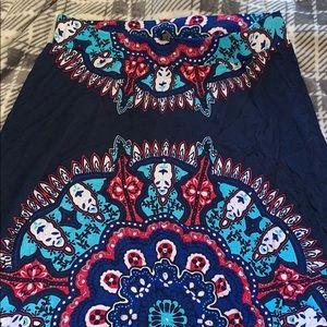 INC brand size medium maxi skirt